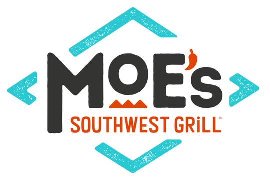 Moe's Southwest Grill in Mahwah has a new sleek logo.