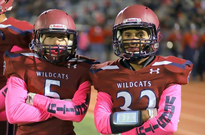 Wildcats Esteban Lopez (5) and Jordan Caballero have big-play potential.