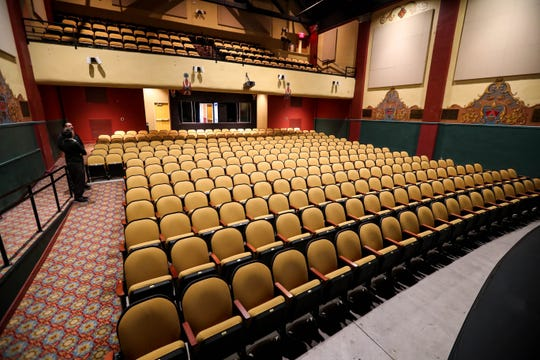 The Rio Grande Theatre is pictured on Thursday, Oct. 31, 2019 after extensive repairs, closing the theater over the summer in Downtown Las Cruces.