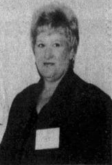Lynn Lejeunne as Executive Director of the Eunice, LA Chamber of Commerce -- photo taken in 1994.