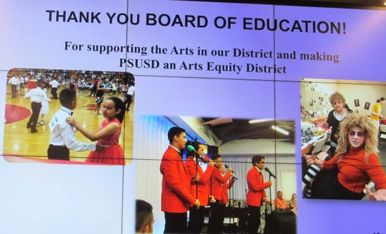 """Palm Springs Unified School District is the first """"Arts Equity District"""" in the Coachella Valley."""