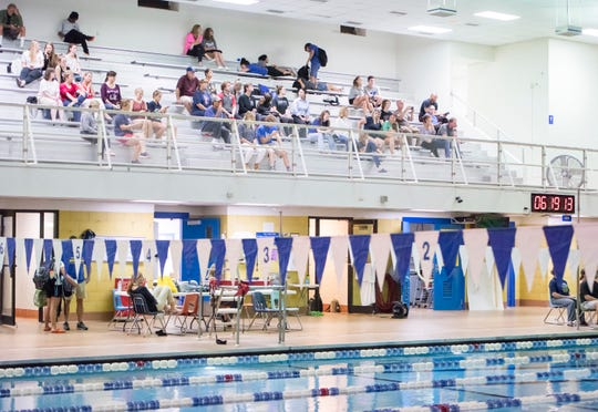 Dive meet at Booker T. Washington Aquatic Center in Pensacola on Wednesday, Oct. 30, 2019.