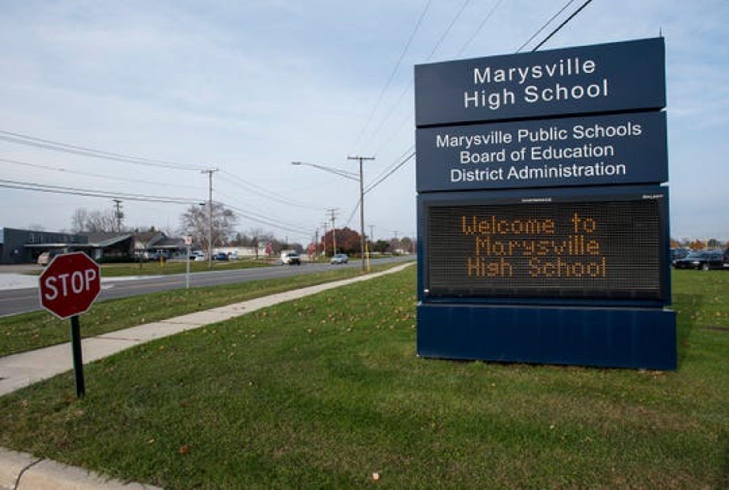 Marysville High School.