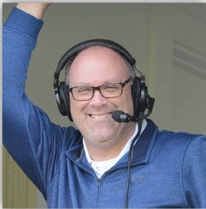 Rob Adams, the new voice of the Hudson Valley Renegades.