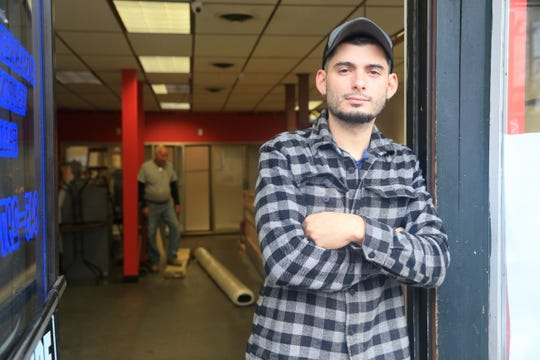 Frank Camey, owner of Mario's Sandwich Company in the Village of Wappingers Falls on October 31, 2019. Camey a Culinary Institute graduate and former chef at Heritage is opening a gourmet deli on Market Street in late November.