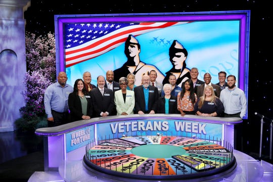 "Stewartstown's Chreas Kratzer will join other service men and women for ""Wheel of Fortune's"" Veterans Week shows."