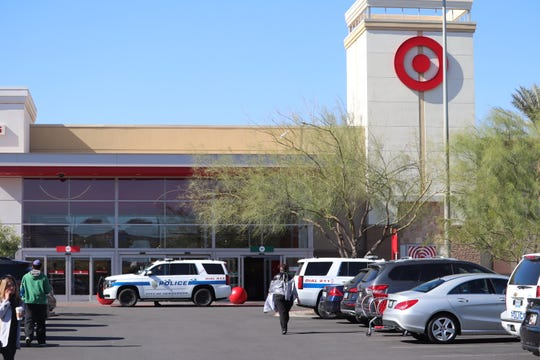 Target shoppers in Henderson, the city next door to Las Vegas, fled the store when a man involved in a road rage incident in the parking lot entered with a handgun, according to police and witnesses.