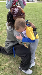 A video of a Richmond youth coach and a 6-year-old has gone viral in recent days and stolen the heart of thousands nationwide.