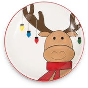 Reindeer plate from Pavilion Gift.