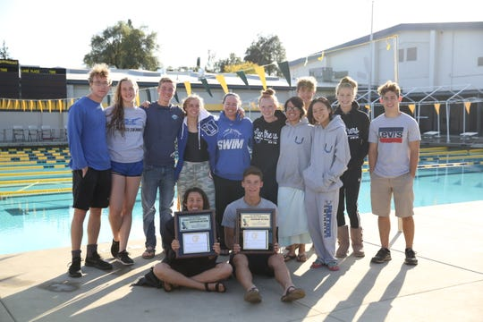 U-Prep boys and girls swim teams won its fourth consecutive CIF Northern Section title.