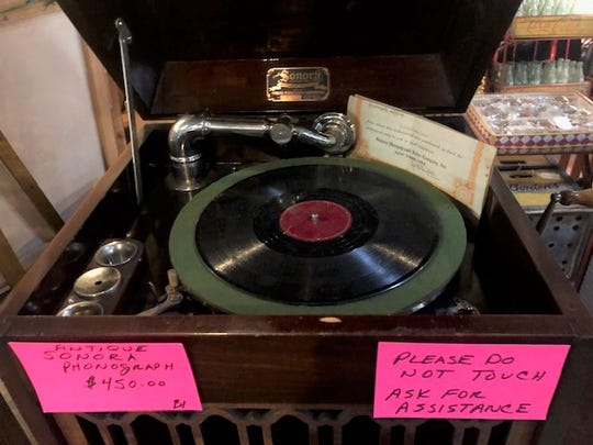 Antique Sonora Phonograph for sale at Madstyle Vintage.