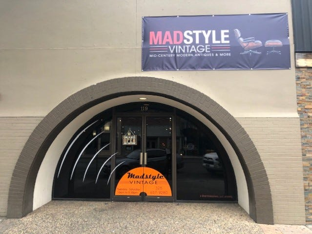 Madstyle Vintage is now located at 119 S. Chadbourne Street in San Angelo.