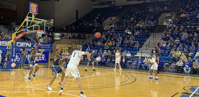 SDSU's men beat Mount Marty 98-70 Wednesday at Frost Arena.