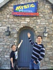 Scott D'Avanzo and his son Ashton.
