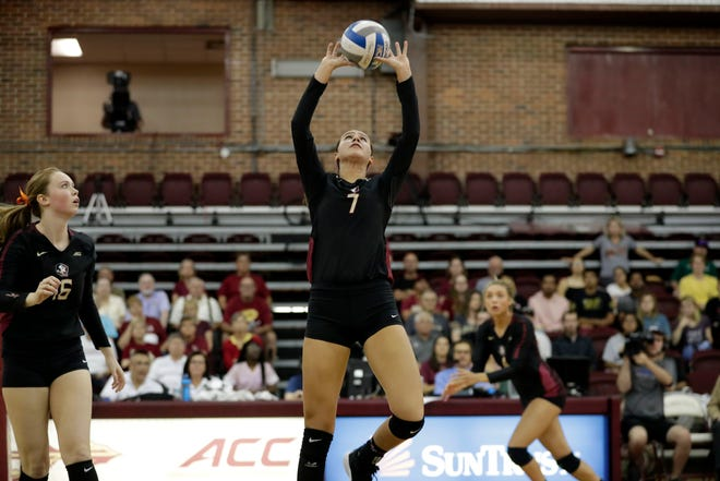 Florida State's volleyball team (10-4) was defeated by Miami (14-2) in four sets Wednesday afternoon.