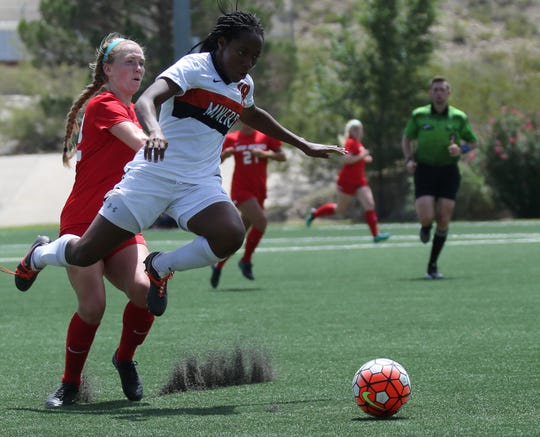 UTEP's Lauren Crenshaw leads the Miners in goals scored this season