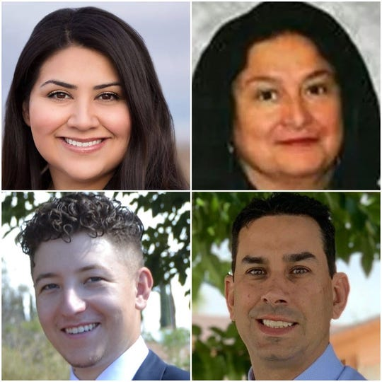 Cassandra Hernandez, Ana Duenez, Will Veliz, Brooks Vandivort