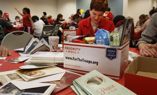 The public is invited on Saturday to help Simi Valley nonprofit For the Troops sign holiday cards to be included in care packages for U.S. soldiers deployed overseas.