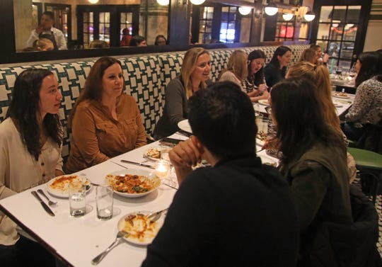 "Guests at ""Dinner with Jeanne,"" held at Granita in Hartsdale Oct. 30, 2019."