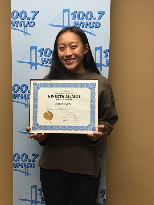 Briarcliff tennis player Rebecca Lim is the latest Con Edison Athlete of the Week.