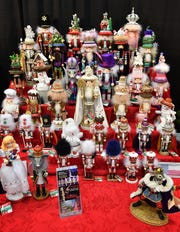 A large display of nutcrackers at Christmas Magic reminds everyone of the upcoming Wichita Falls Ballet Theatre holiday favorite.