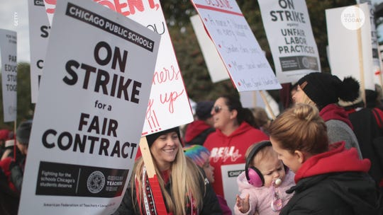 Chicago teachers' strike ends after 11 days. CPS will have 5 make-up days of school