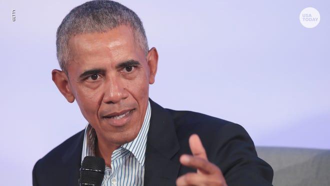 Hasil gambar untuk Obama: Democrats need to 'chill out' about crowded 2020 field