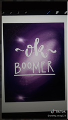 "An ""OK, Boomer"" TikTok."