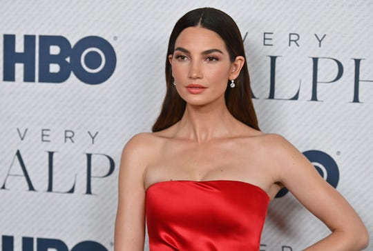 "US model Lily Aldridge attends the world premiere of HBO Documentary Films ""Very Ralph"" at The Metropolitan Museum of Art on October 23, 2019 in New York City. (Photo by Angela Weiss / AFP) (Photo by ANGELA WEISS/AFP via Getty Images) ORG XMIT: Premiere ORIG FILE ID: AFP_1LO7XF"