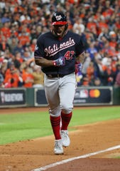 Nationals postseason hero Howie Kendrick came up big as a DH in October.