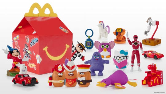 Limited Edition McDonald's Happy Meal will be available November 7-11, while supplies last.