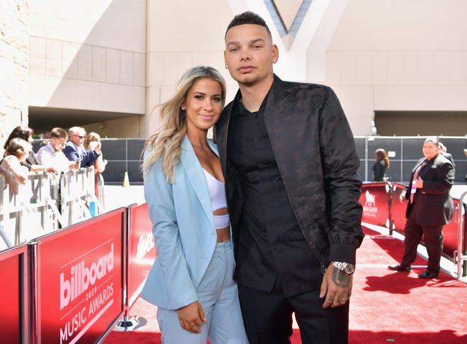 Katelyn Jae and Kane Brown attend the 2019 Billboard Music Awards at MGM Grand Garden Arena on May 1, 2019 in Las Vegas, Nevada.