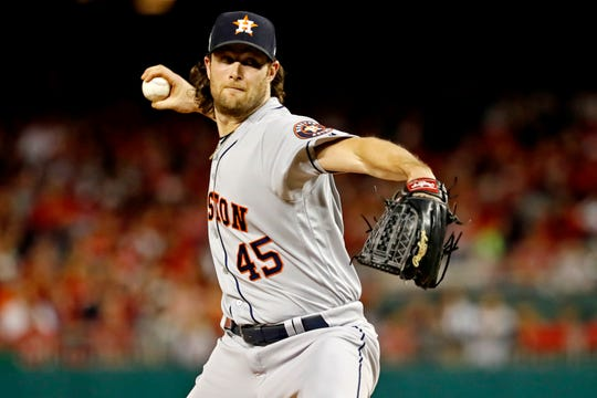 Gerrit Cole was one of the most dominant pitchers this season.