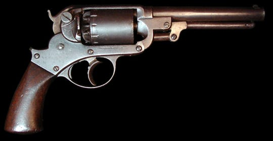 One of the many Starr revolvers made in Binghamton.