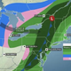 Heavy rain in the northeast on Halloween night could lead to flash flooding.