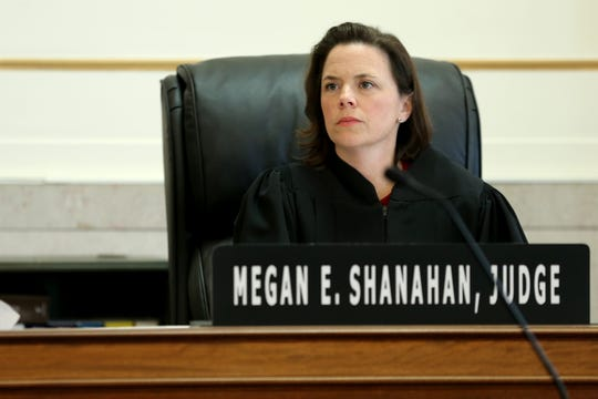 "Hamilton County Common Pleas Judge Megan Shanahan presides over a hearing at which Keesean Savage, 18, pleaded guilty, Friday, Nov. 1, 2019, in connection connection with a rape in Clifton's gaslight district in June. According to court documents, Savage lured the victim behind a building ""on the pretense of"" having her take photos of a vehicle he claimed had struck him days earlier."