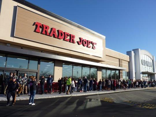 Trader Joe's opened its doors at the Bridgewater Promenade on Friday, Nov. 1, 2019.