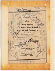 A photo album with items related to the Class of 1946 turned up at Linden High School over the summer with old photos and school programs, as well as items from class reunions over the years. The album was returned to its original owner just days before she died.