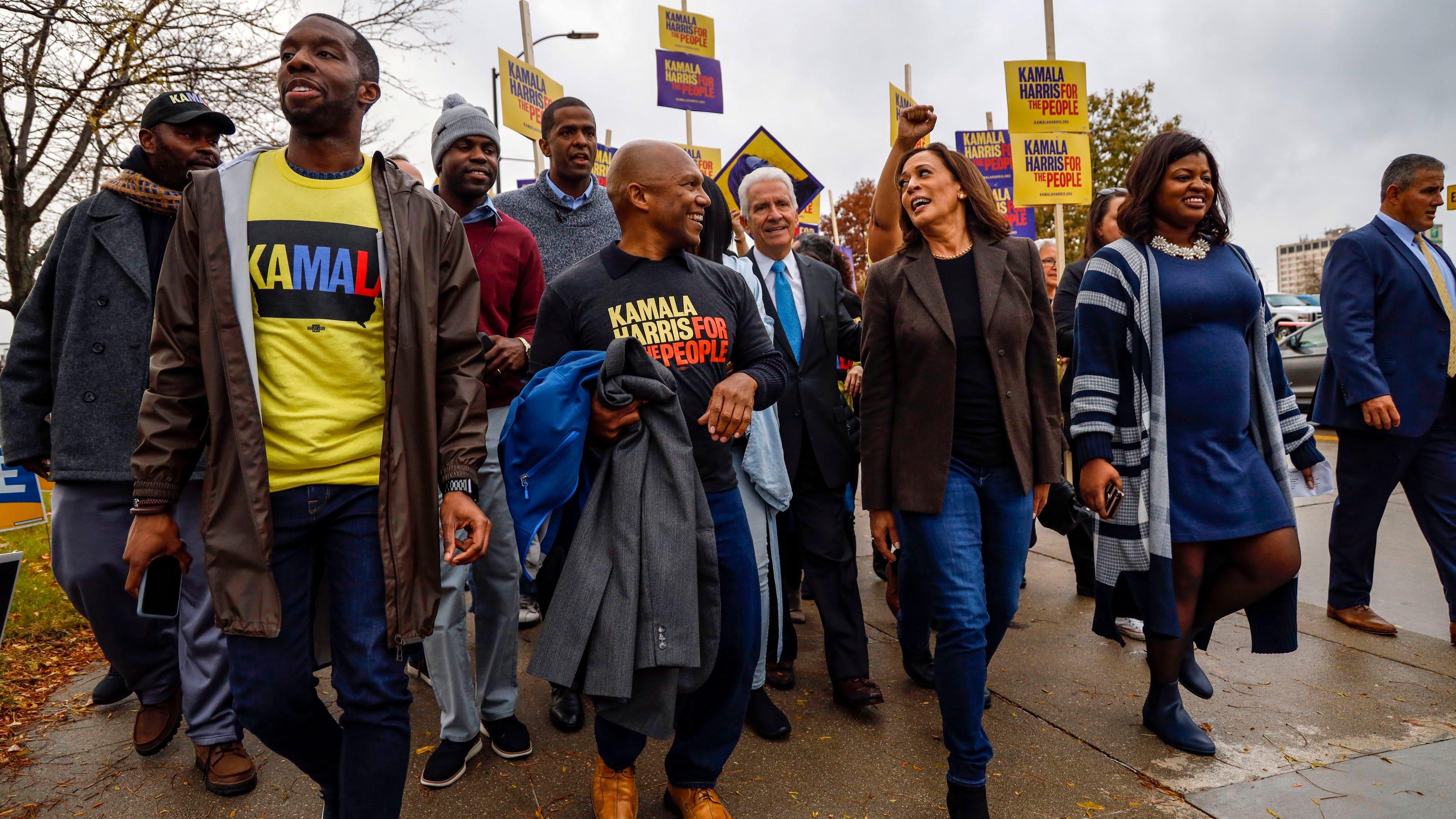 www.desmoinesregister.com: Kamala Harris' rise to vice president marks a new dawn in America