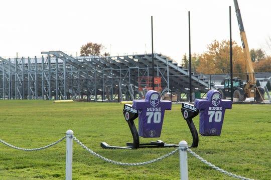 De La Salle Collegiate High School Athletic Field in Warren, Friday, Nov. 1, 2019.