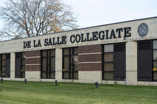 De La Salle Collegiate High School in Warren, Friday, Nov. 1, 2019.