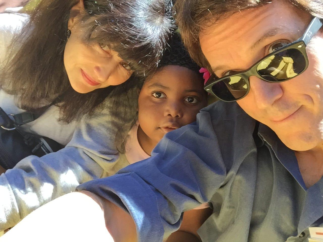 Janine Sabino, Chika and Mitch.