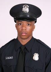 Detroit police officer Antonio Williams