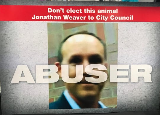 Mailer paid for by Scott Danks about Jonathan Weaver.