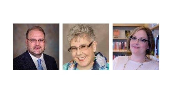 Scott Kinney, Lynette Schurdevin and Rebecca Wolf