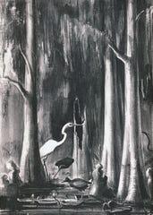 """Ocklawaha River,"" by Victoria Hutson Huntley"