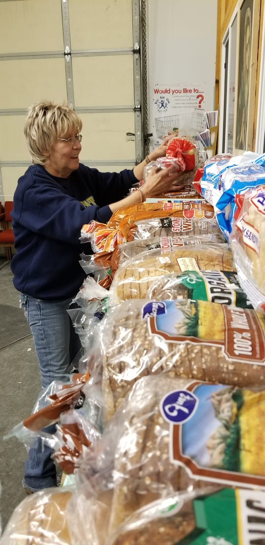 While much of the food at St. Vincent De Paul is donated and much of the work is volunteer, the endeavor still costs thousands of dollars a year.