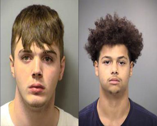 Daniel Crockett, 17, and Antonio Carter, 18, face murder and robbery charges in the fatal stabbing of an 18-year-old man, Indianapolis police said.