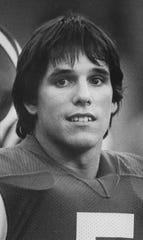 Colts kicker Dean Biasucci, Sept. 18, 1984.