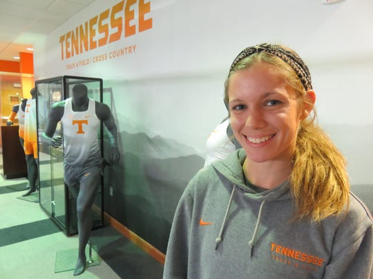 Tennessee senior cross country standout and West High graduate Megan Murray was born during the Vols' national championship run in the fall of 1998, and went to her first UT football game at the age of 10 months. 10/28/19